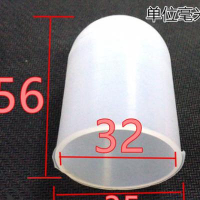 白色圆头非标尺寸保护套螺丝套过高温防尘帽喷涂电镀硅胶胶套现货